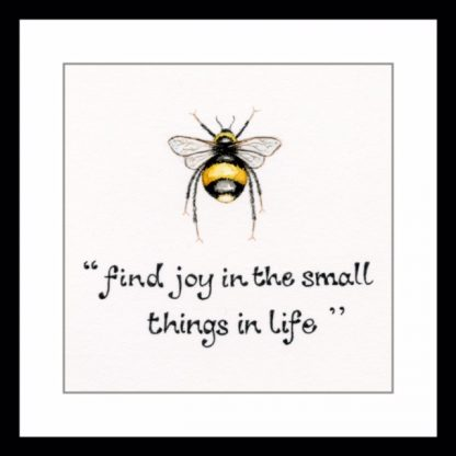 find_joy_in_small_things_greetings_card