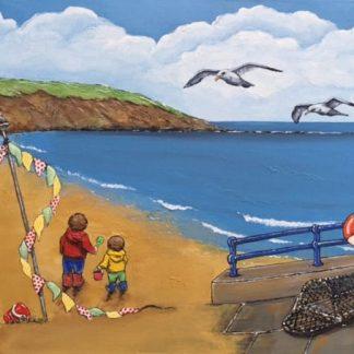 Fiona Clibbens Beside the Seaside Art Prints