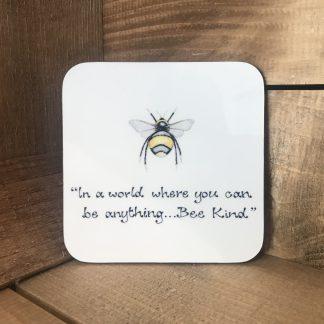 Sentiment Bee Coasters